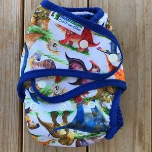 Best Bottom All-in-One Cloth Diaper - One size